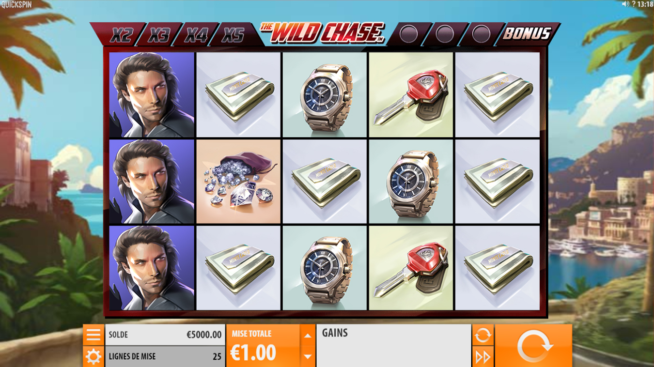 revue jeu the wild chase screenshot