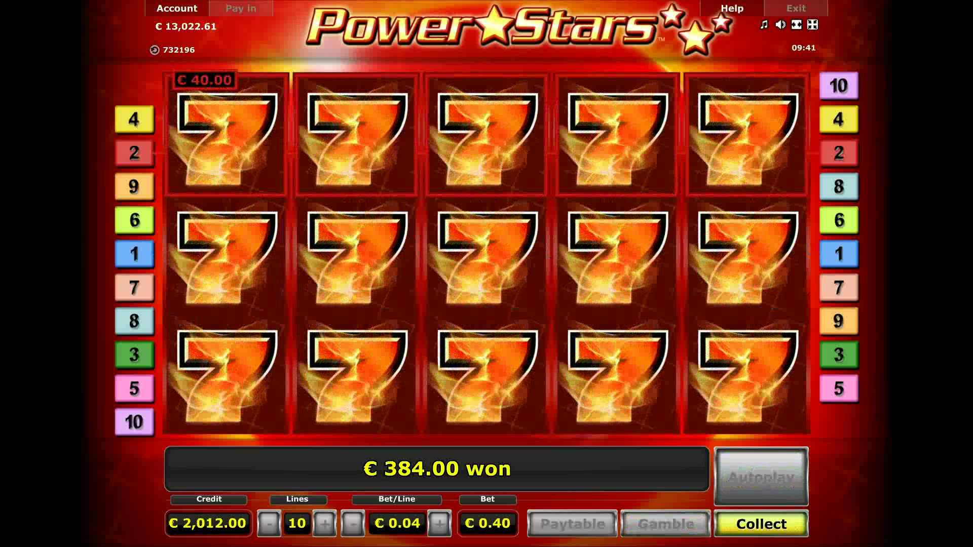 Power Stars Slots - Machines a Sous