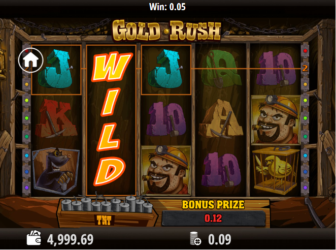 Machine A Sous Gold Rush