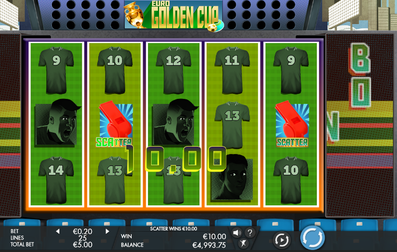Euro Golden Cup Microgaming Slot